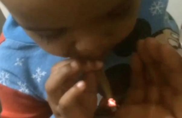 boy smoking weed
