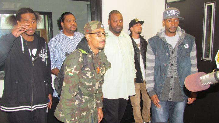 Sam Sylk In The Studio with Bone Thugs & Harmony [PHOTOS]