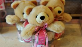 Indonesians Prepare For Valentines Day