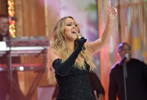 Mariah Carey Performs On NBC's 'Today'