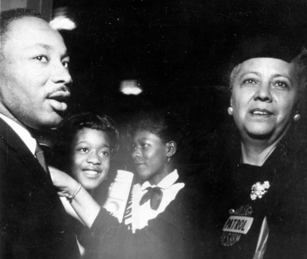 MLK & Hedgeman With Students