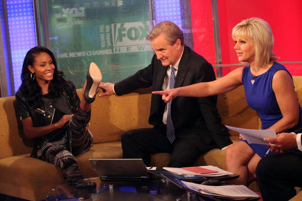 Jada Pinkett Smith & Gene Simmons Visit 'FOX & Friends'