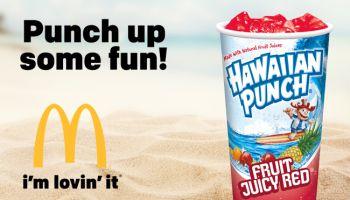 McDonald's Hawaiian Punch
