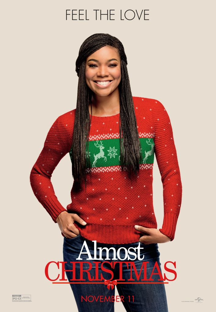 Almost Christmas Character Posters