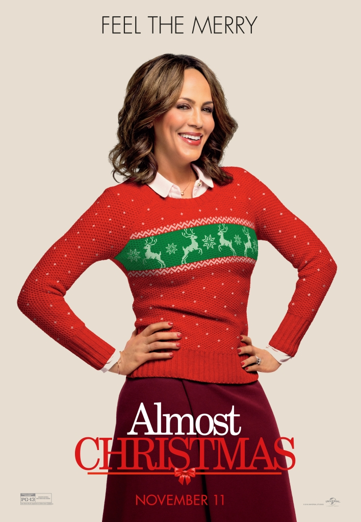 Nicole Ari Parker Almost Christmas Character Posters