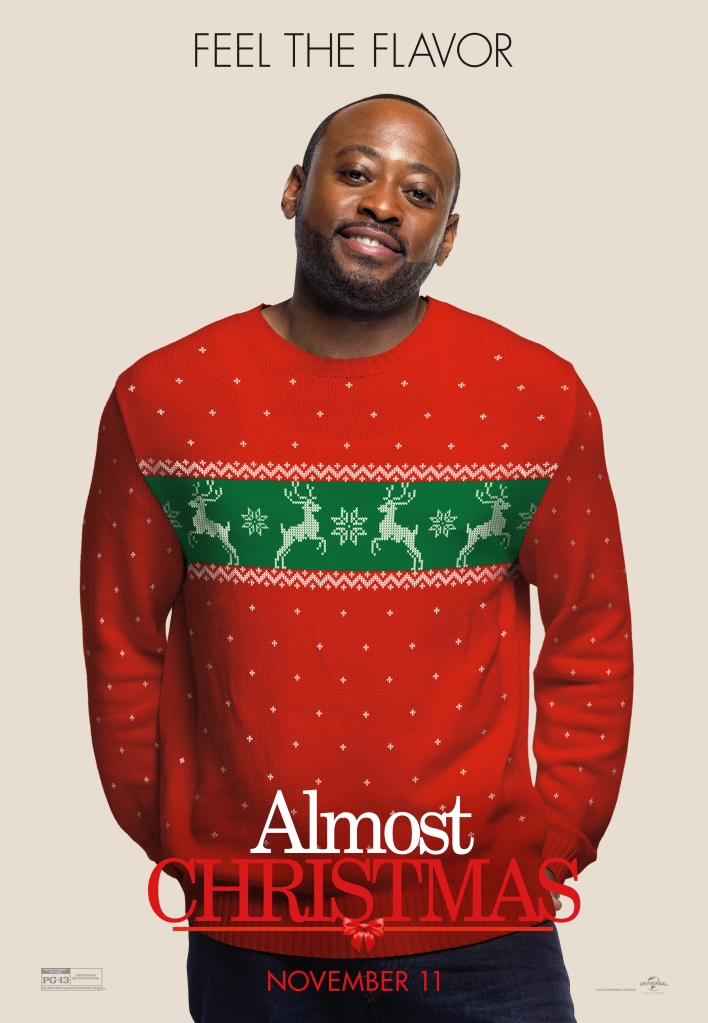 Omar Epps Almost Christmas Character Posters