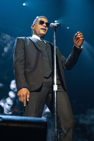 Maxwell & Mary J. Blige Performs At Le Zenith In Paris