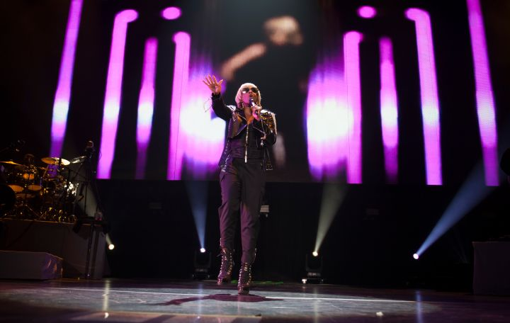 Maxwell And Mary J Blige Performs At Genting Arena - Birmingham