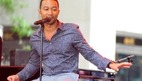 John Legend Performs On NBC's 'Today'