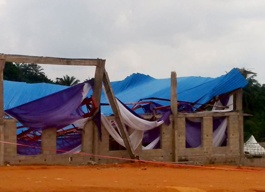 Church collapse kills 'at least 160' worshippers in Nigeria