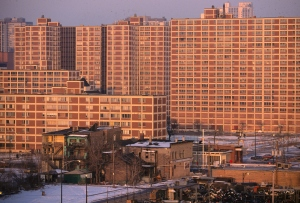 Cabrini-Green Housing Project Buildings