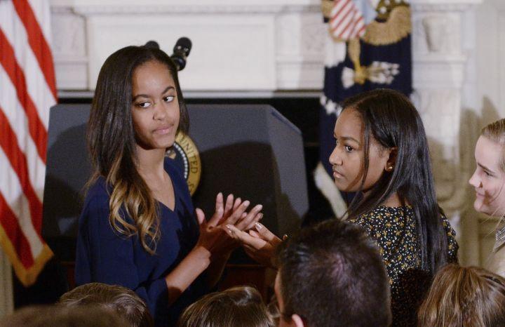 Sasha And Malia: First Sisters