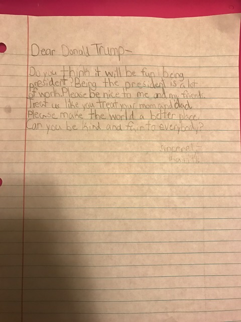Letters To Trump