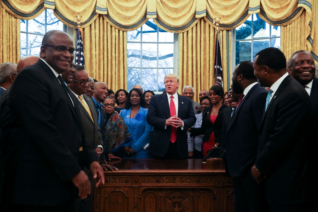 US President Donald Trump Meets With The Historically Black Colleges and Universities