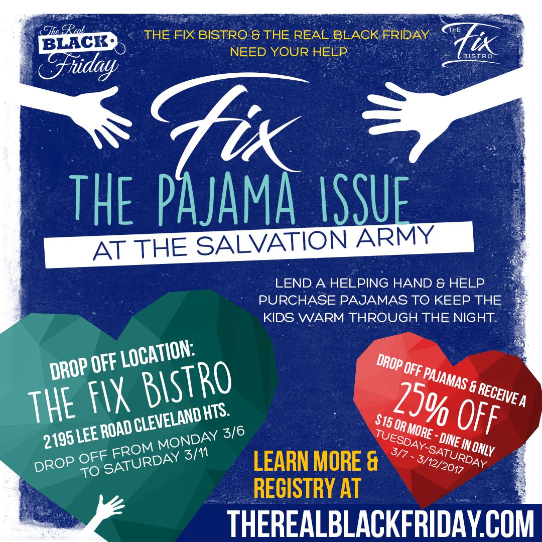 black friday pajama charity