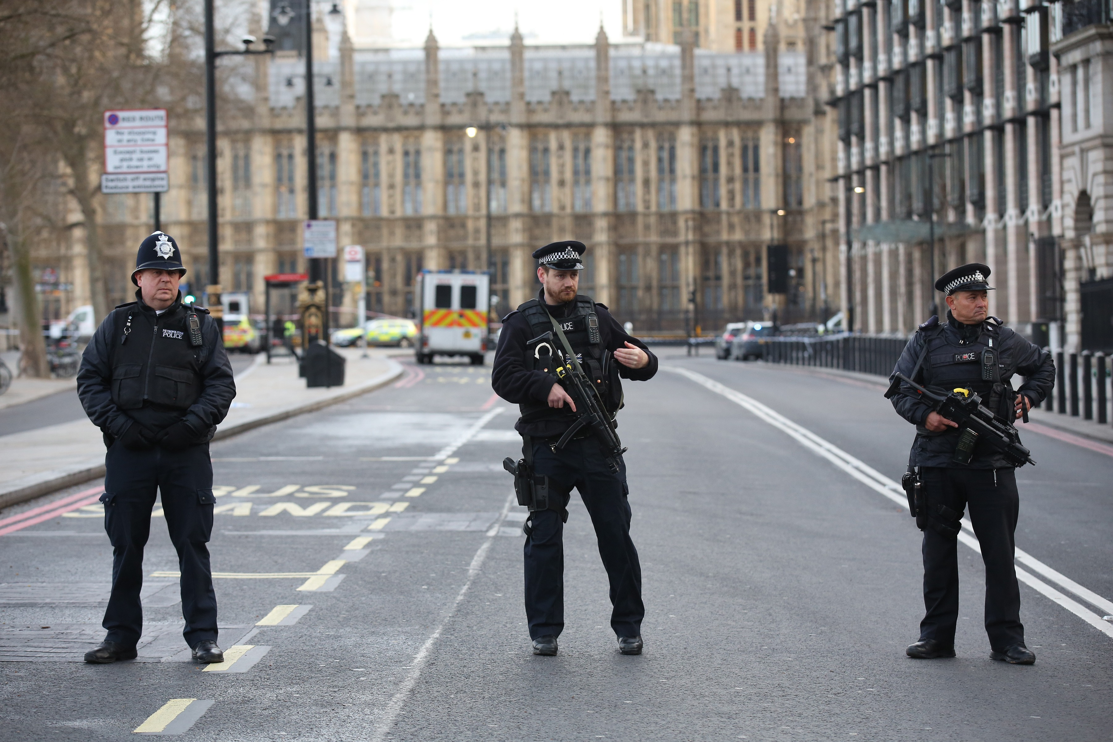 Suspected Terror Incident At the Houses of Parliament