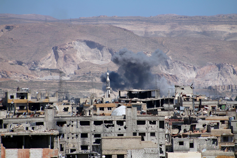 Assad regime hits opposition regions in Damascus