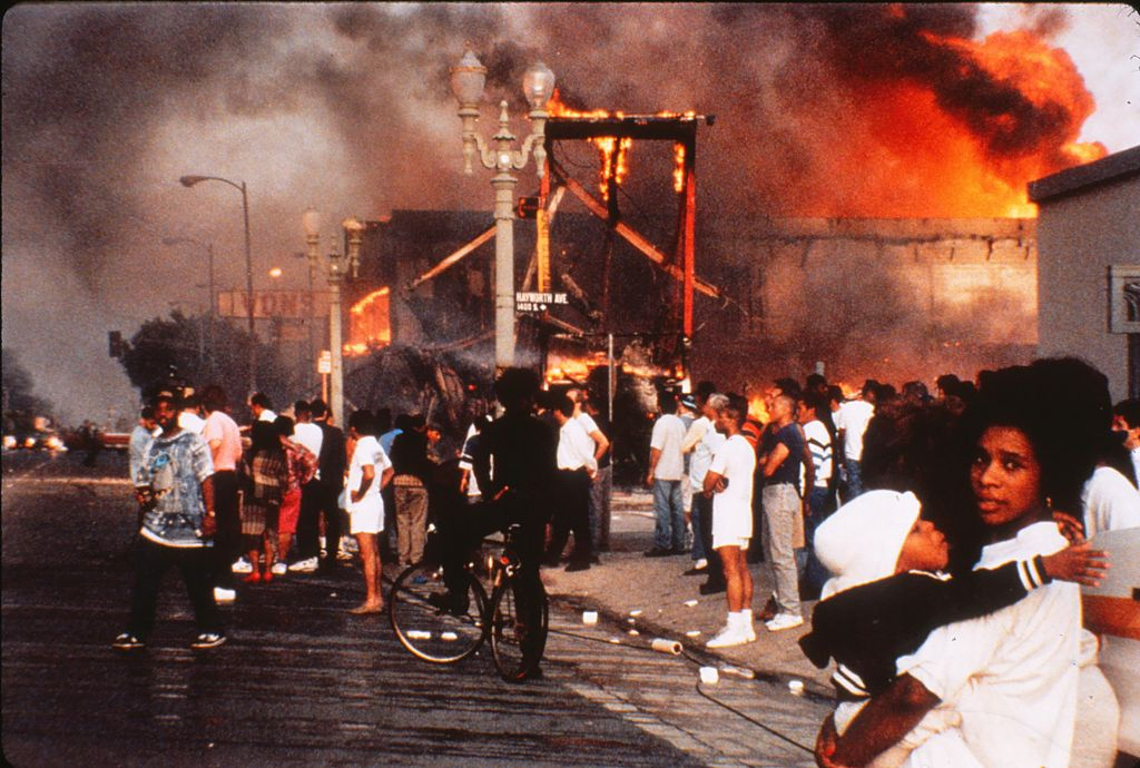 LOS ANGELES - Riot April 30