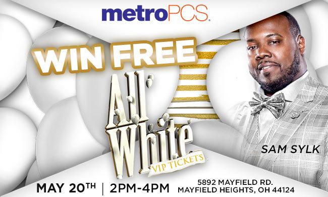 MetroPCS Sam Sylk All White VIP