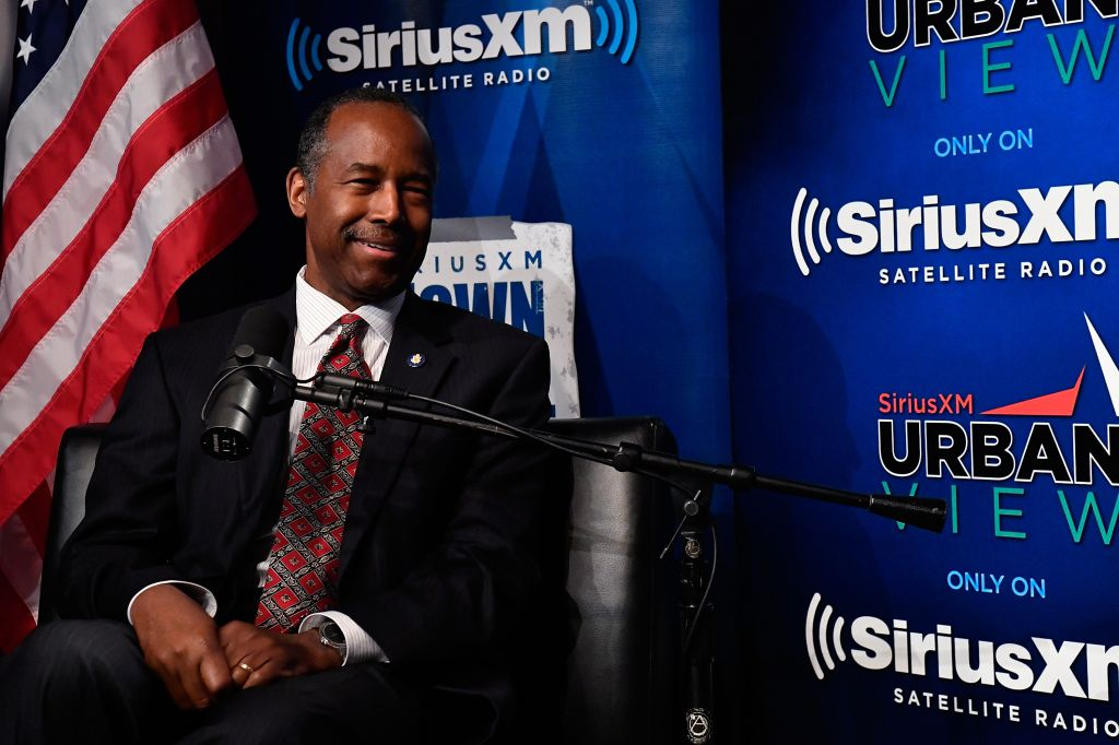 SiriusXM's Town Hall With HUD Secretary Dr. Ben Carson, Hosted By Armstrong Williams