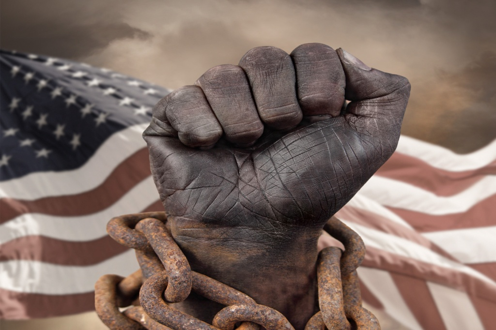 Slavery Stock image