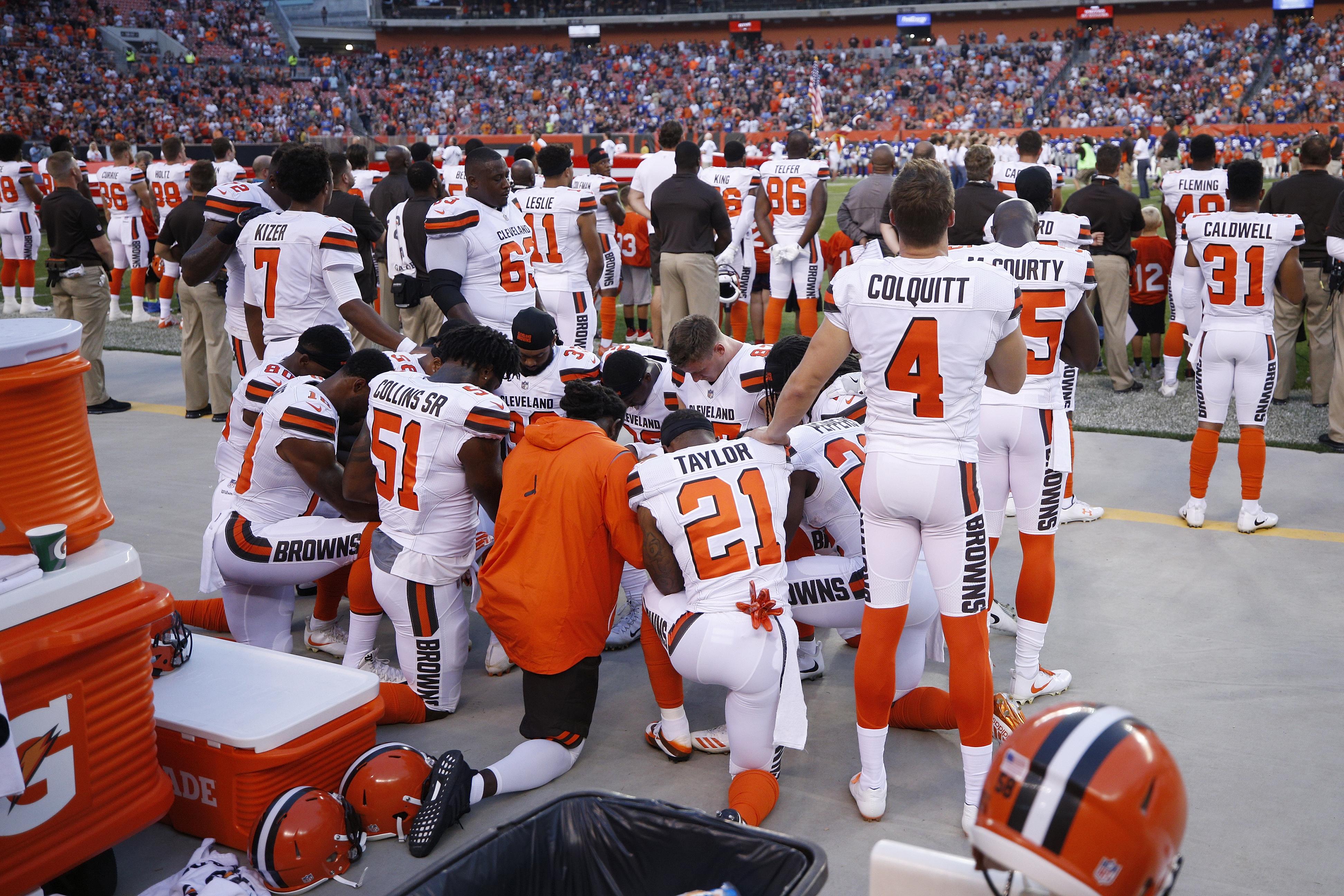 New York Giants v Cleveland Browns