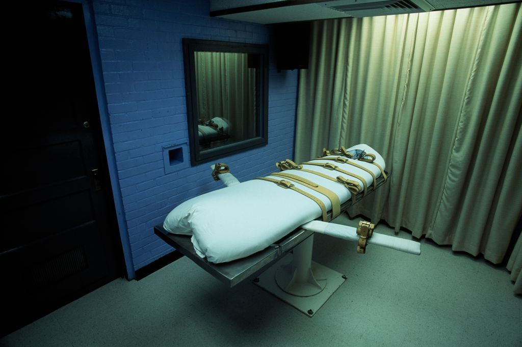 Texas Death Chamber for Lethal Injection