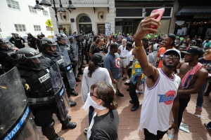 Violent Clashes Erupt at 'Unite The Right' Rally In Charlottesville