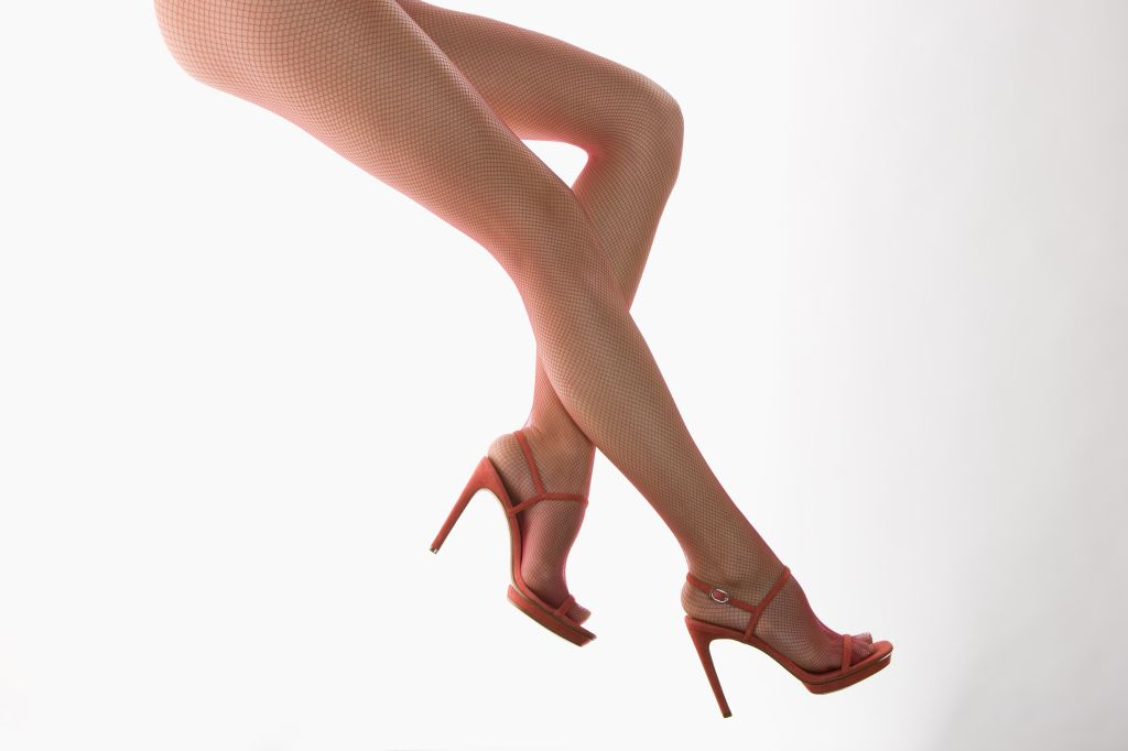 Woman's legs and feet in high heels