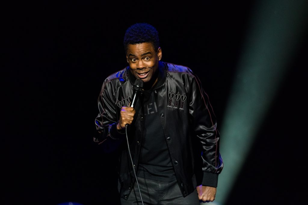 Chris Rock Performs in Concert in Oslo