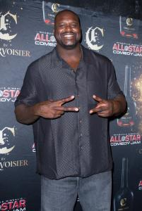 Shaquille O' Neal Hosts All Star Comedy Jam Holiday Celebration Presented By C By Courvoiser In Miami