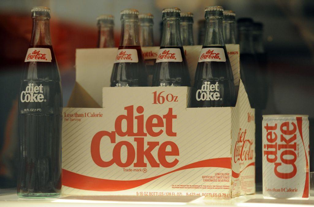Diet Coke stock