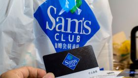 Sam's Club membership card. At present, three of the top...