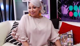 Raven-Symone and Issac Brown Visit Young Hollywood Studio