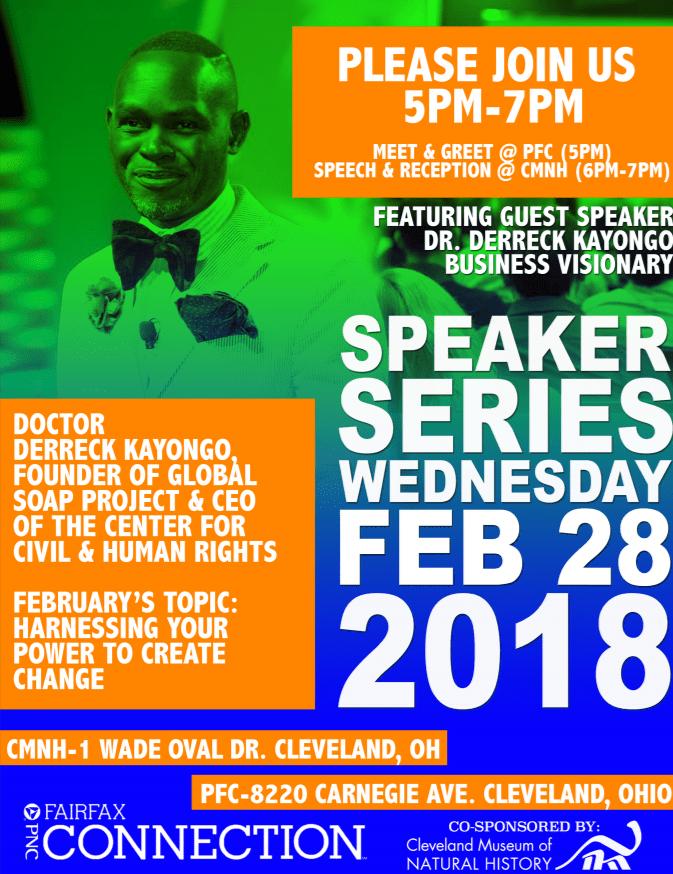 PNC Speaker Series Derreck Kayongo