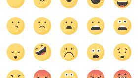 Cute emoticons set 1