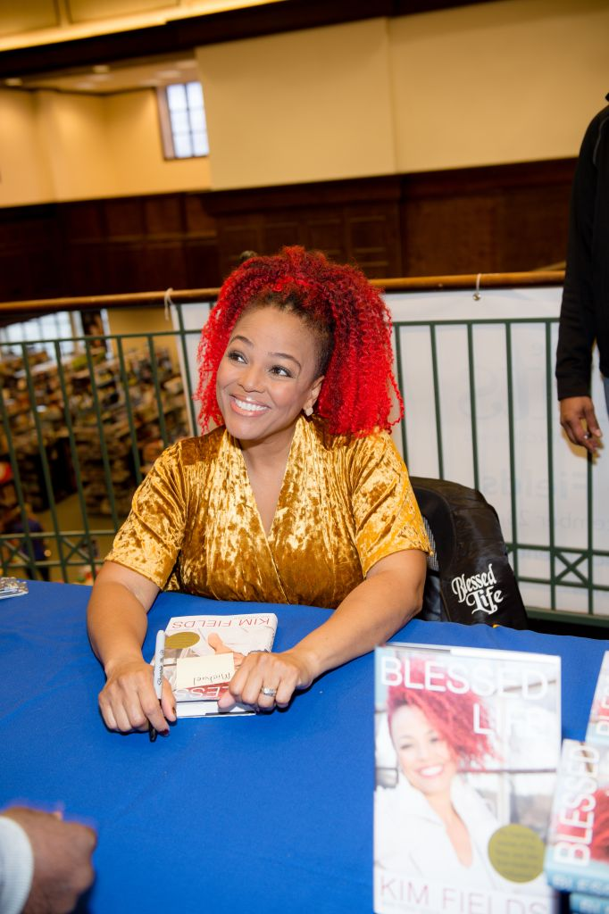 Kim Fields Book Signing