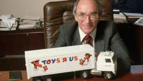 Charles Lazarus with Toy Truck