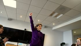 Gloria Allred Visits Getty Images Los Angeles Office