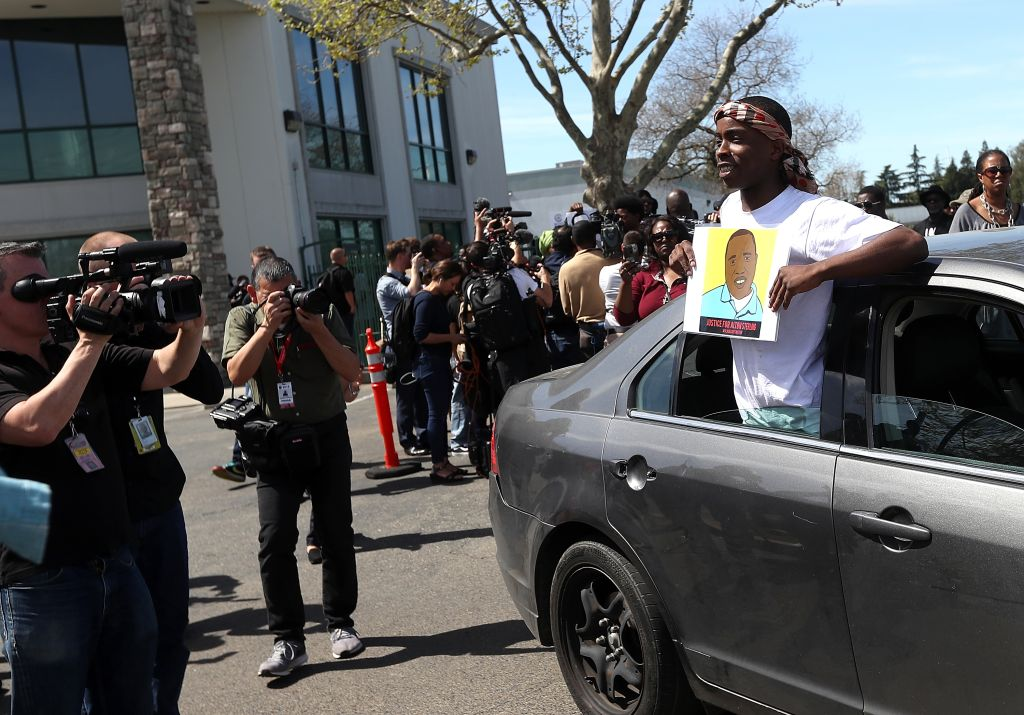 Funeral Services Held For Unarmed Man Killed By Sacramento Police