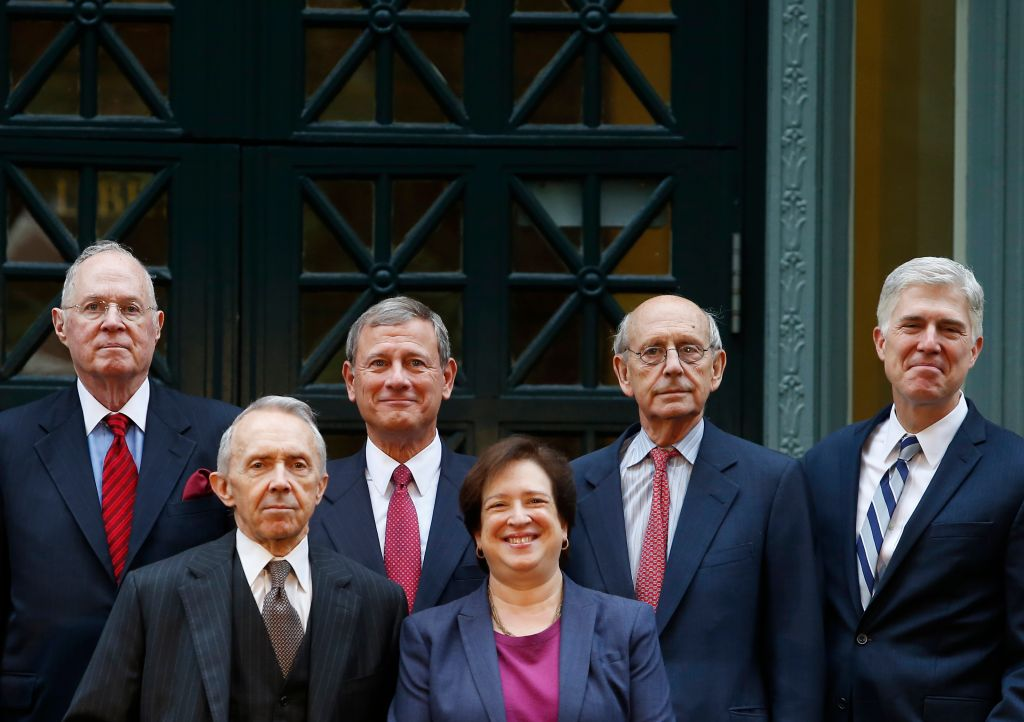 Past And Present U.S. Supreme Court Justices Mark Harvard Law School Bicentennial