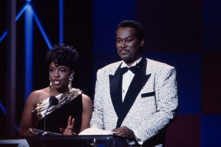 Gladys Knight, Luther Vandross Presenting On The 17th American Music Awards