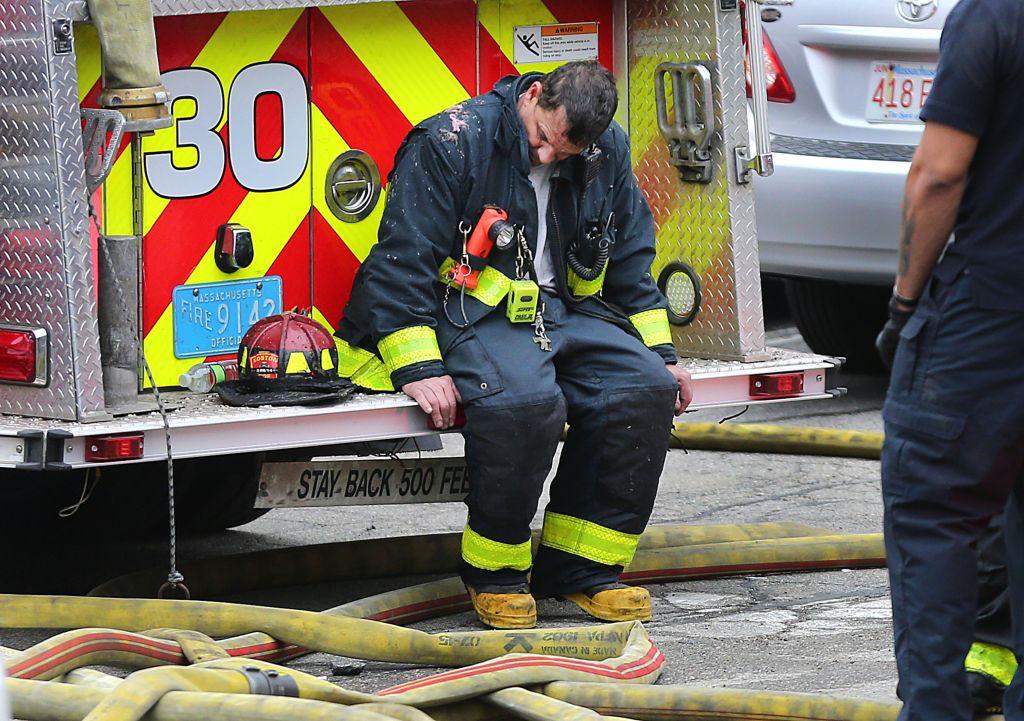 6-Alarm Condo Fire In West Roxbury