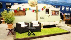 Outdoor camping indoors