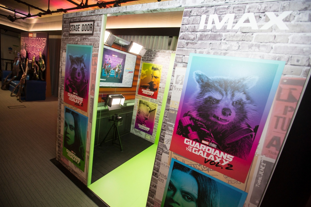 Marvel And IMAX Invite UK Fans To Guardians Of The Galaxy Vol 2 Music Booth At The BFI IMAX London