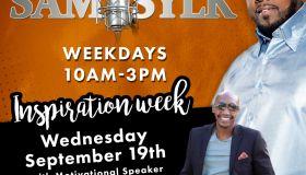 sam sylk show inspirational week