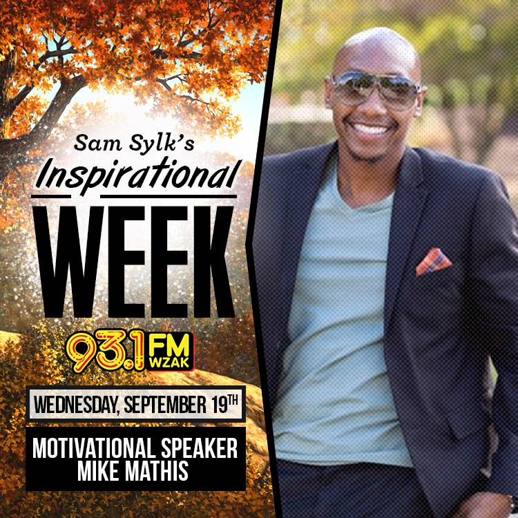 sam sylk show inspirational week