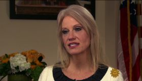 Kellyanne Conway during an appearance on CBS's 'Sunday Morning.