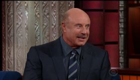 Phil McGraw during an appearance on CBS's 'The Late Show with Stephen Colbert.'