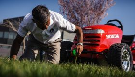 Honda Mean Mower is officially the fastest lawnmower in the world.